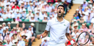 Men's final Novak Djokovic Wimbledon