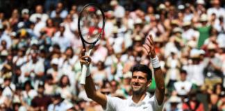 Day 3 Novak Djokovic Wimbledon Day 1