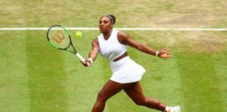Wimbledon Women's semifinal Serena Williams