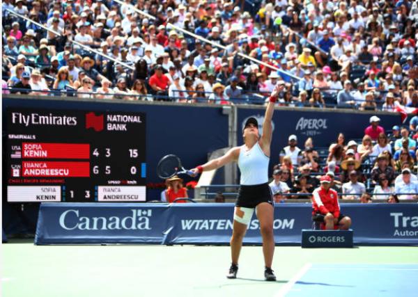 Bianca Andreescu Rogers Cup