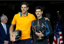 Novak Djokovic and Juan Martin del Potro US Open