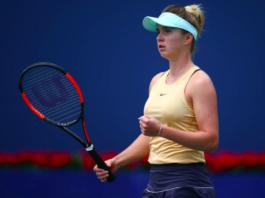 US Open Day 1 Elina Svitolina