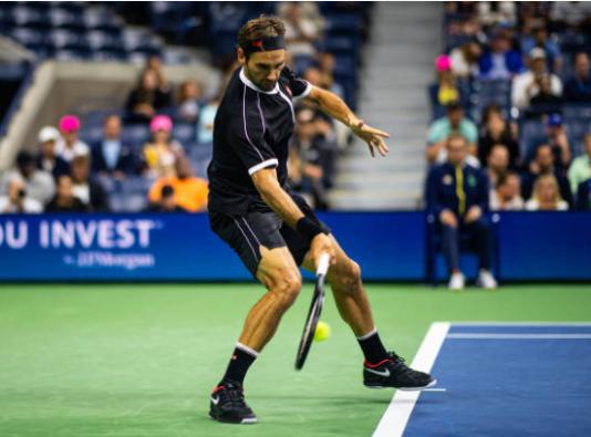 Roger Federer US Open Day 3