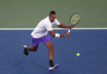 Nick Kyrgios US Open Day 6