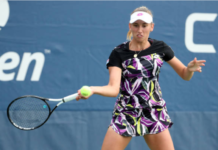 Elise Mertens US Open Day 4