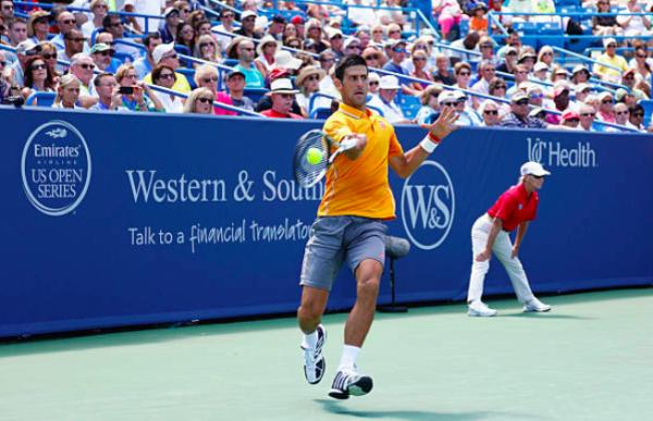ATP Cincinnati Novak Djokovic