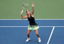 Caroline Wozniacki US Open Day 2