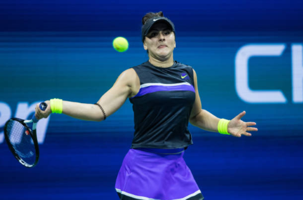 Bianca Andreescu US Open quarterfinals