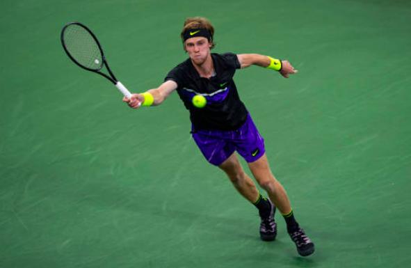 ATP St. Petersburg Open Andrey Rublev