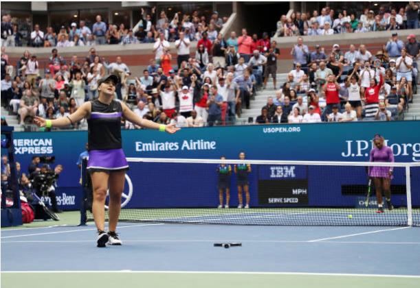 Bianca Andreescu US Open final