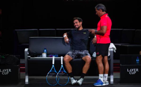 Laver Cup Session 1 Fabio Fognini