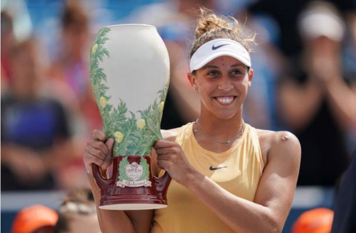 Madison Keys Cincinnati women's tennis