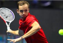 Daniil Medvedev St Petersburg Open