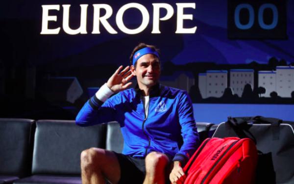 Laver Cup Session 2 Roger Federer