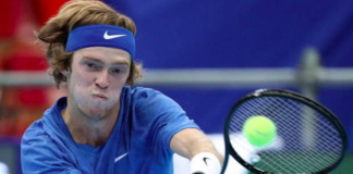 ATP Kremlin Cup Andrey Rublev Moscow