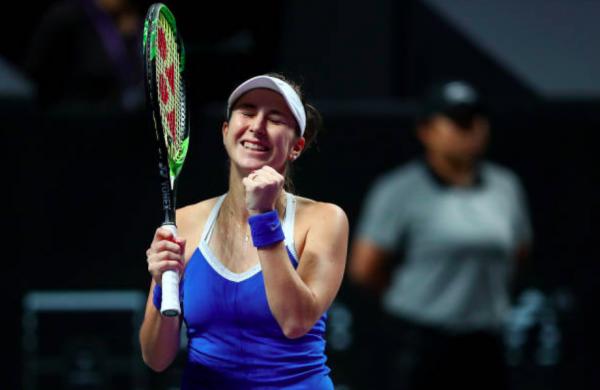 Belinda Bencic WTA Finals