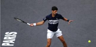 Novak Djokovic Paris Masters