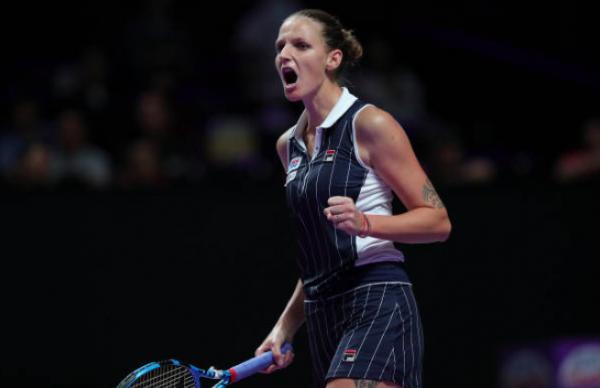 WTA Finals Karolina Pliskova