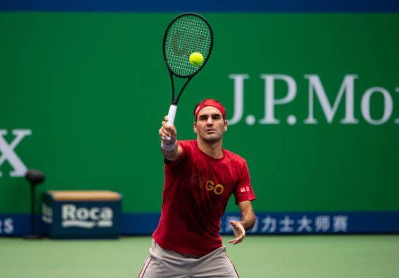 Rolex Shanghai Masters Roger Federer