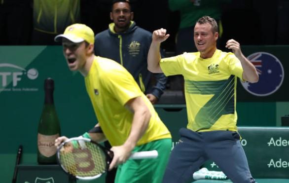 Davis Cup Australia Lleyton Hewitt Nick Kyrgios
