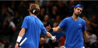 Karen Khachanov and Andrey Rublev Davis Cup Finals