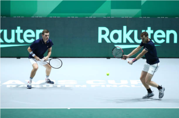 Jamie Murray and Neal Skupski Davis Cup Finals