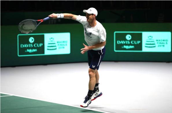Andy Murray Davis Cup Finals
