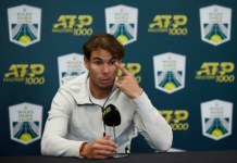 Rafael Nadal press conference at the Paris Masters