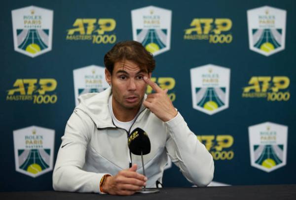 Rafael Nadal press conference at the Paris Masters