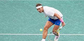 Rafael Nadal Paris Masters