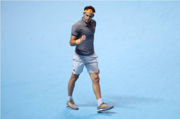 Dominic Thiem ATP Finals London