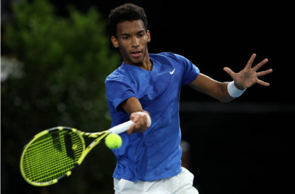 Felix Auger-Aliassime Adelaide International