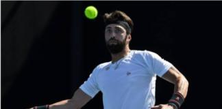 Nikoloz Basilashvili Australian Open day four