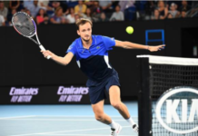 Daniil Medvedev at the Australian Open
