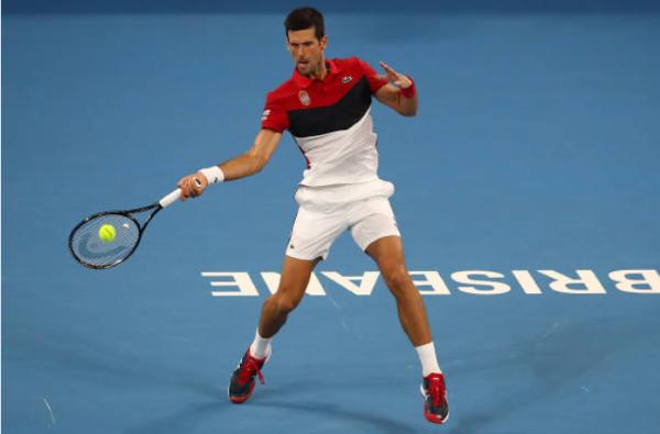 Novak Djokovic, ATP Cup day six