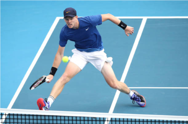 Kyle Edmund ASB Classic Day Two