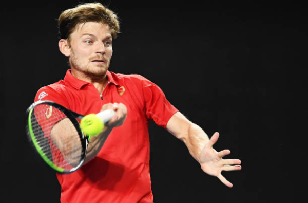David Goffin at the Australian Open