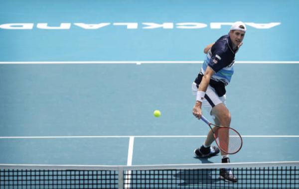 John Isner Auckland Open