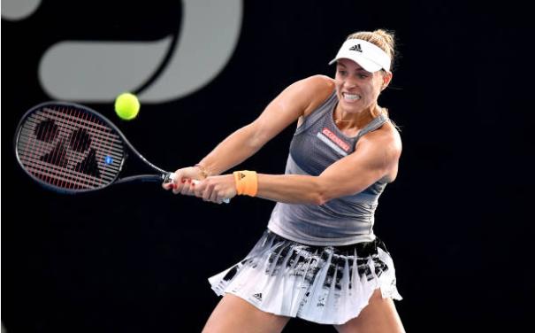 Angelique Kerber Adelaide International Day One