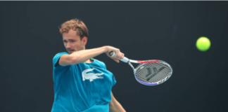 Daniil Medvedev at the Australian Open