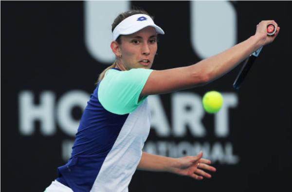 Elise Mertens Hobart International Day Four