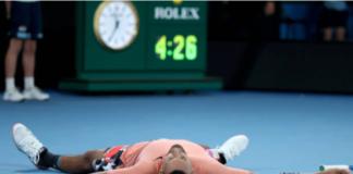 Nick Kyrgios at the Australian Open