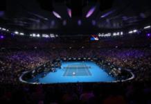 Rod Laver Arena ahead of the Australian Open