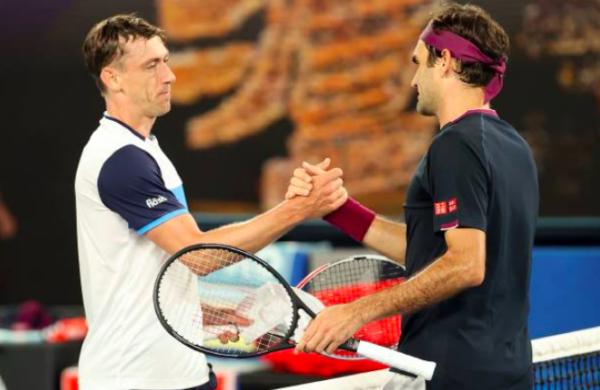 Roger Federer vs John Millman 2020 Australian Open Day 5