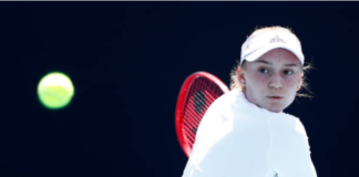 Elena Rybakina Australian Open day three