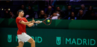 Denis Shapovalov ATP Cup Day One