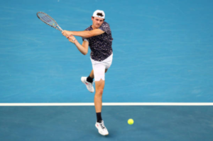 Tommy Paul on day three at the Australian Open