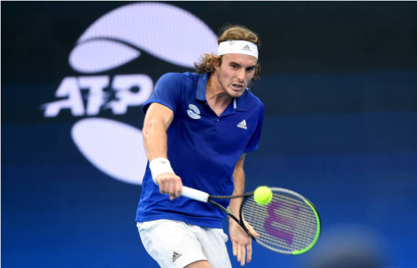 Stefanos Tsitsipas ATP Cup Day 3