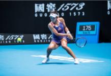 Wang Qiang at the Australian Open