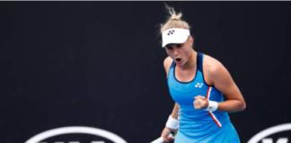 Dayana Yastremska at the Australian Open